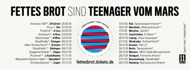 teenager vom mars tour